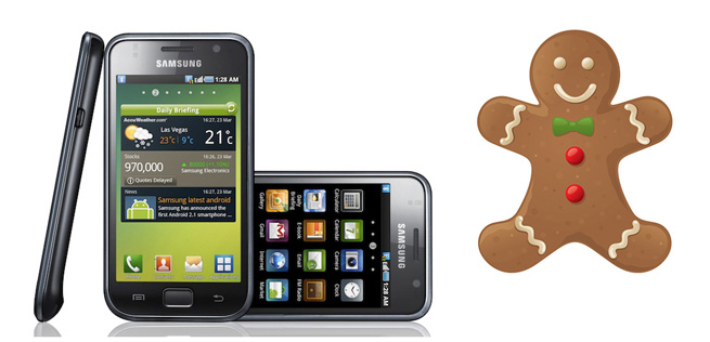 Samsung brings Android 2.3 'Gingerbread' update for Galaxy S, Ace, Fit, Gio, Mini and Tab