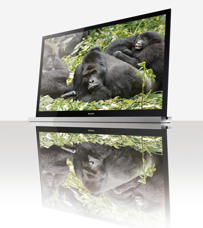 Sony BRAVIA HDTVs with Gorilla Glass