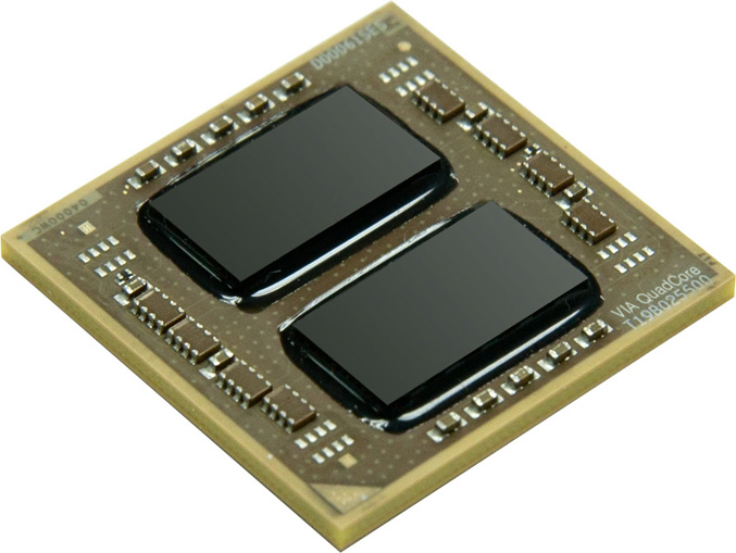 VIA Nano QuadCore L4700 processor