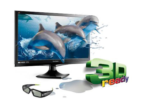 ViewSonic V3D245wm-LED 3D Monitor