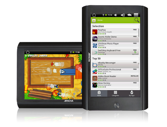 Archos Arnova 7 Android tablet