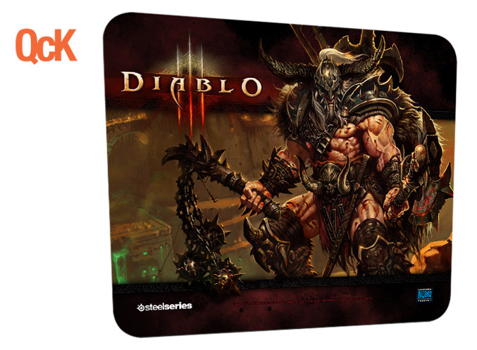 SteelSeries Diablo III QcK Barbarian Edition