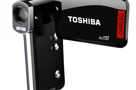 Toshiba launches Camileo P100 and B10 portable Full HD camcorders