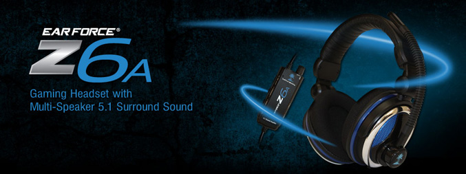 Z6A Multi Speaker Surround Sound Headset