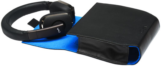 BlueAnt Embrace Headphones soft carry case