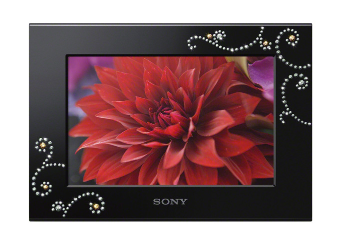 Sony rolls out nine new digital photo frames