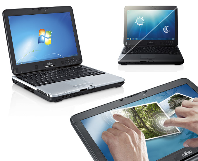 Fujitsu LifeBook T731 and TH701 dual-touch Tablet PC