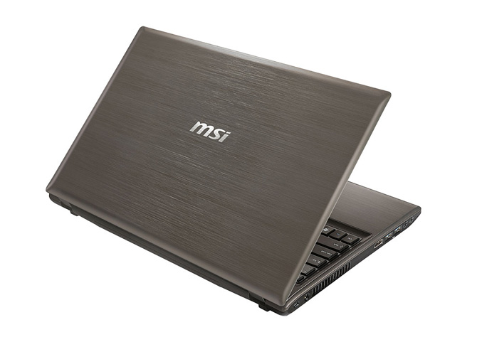 MSI GE620DX gaming notebook