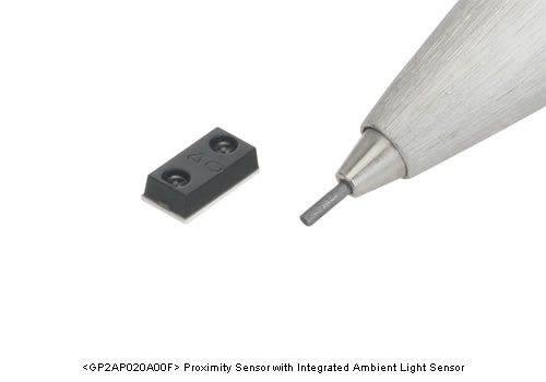 Sharp unveils Smallest Proximity Sensor with Integrated Ambient Light Sensor for Mobile Devices
