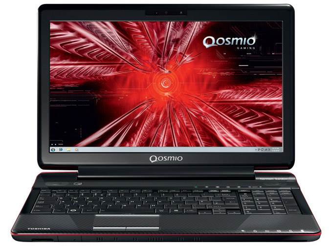 Toshiba Qosmio F750 3D laptop