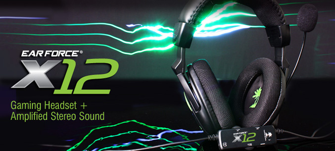 Turtle Beach unveils Ear Force X12 Headset for Xbox360 and PC
