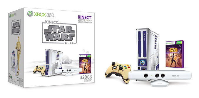 Xbox 360 Limited Kinect Star Wars Bundle