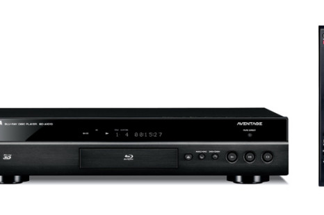 Yamaha's Aventage BD-A1010 Blu-Ray Player offers Internet video streaming and remote control via iPhone
