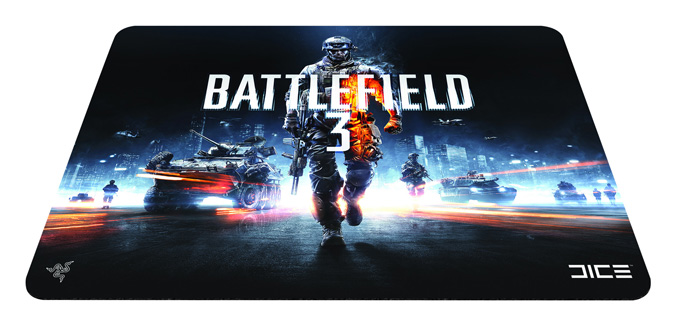 Battlefield 3 Scarab hard mouse
