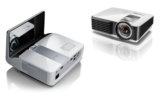 Benq MW851UST and MX813ST projectors