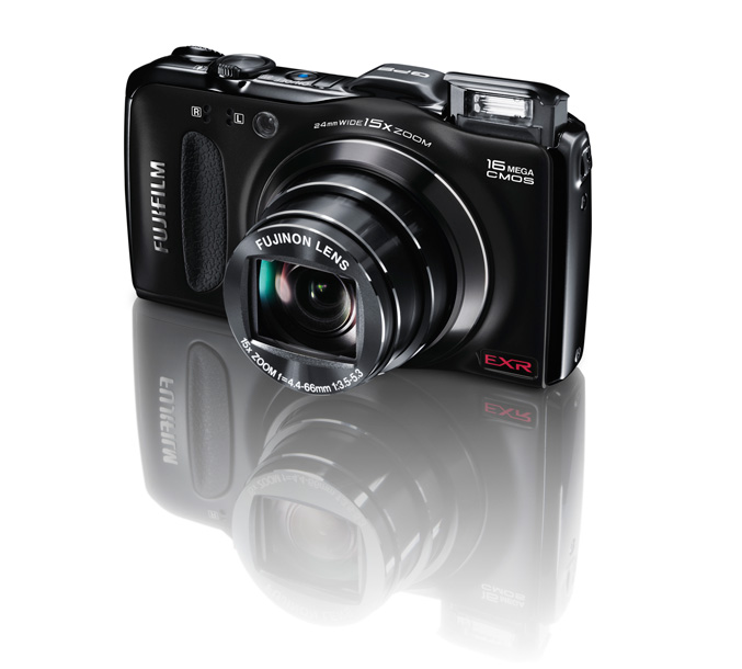 Fujifilm FinePix F600EXR offers 15x long zoom and enhanced GPS features