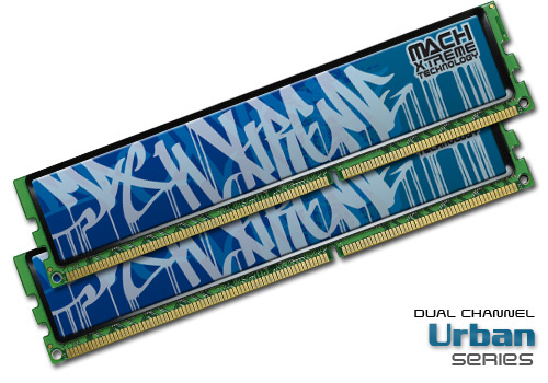 Mach Xtreme Urban Series Dual-Channel DDR3 memory kits