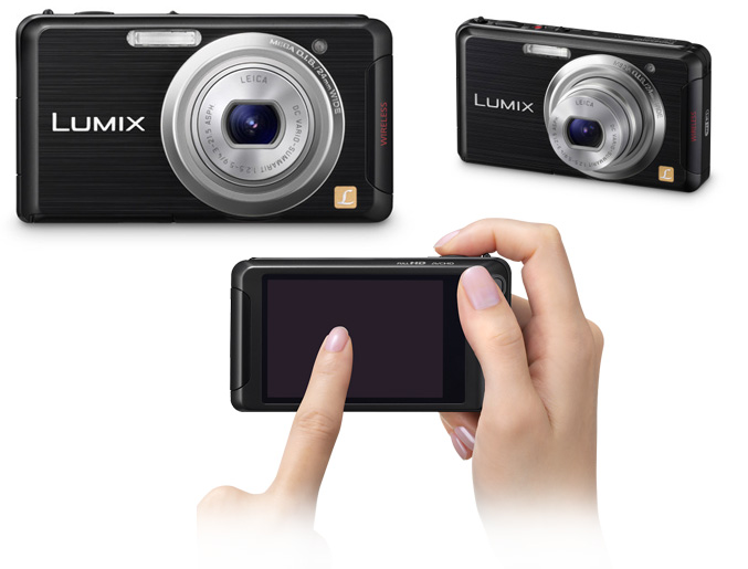 Panasonic DMC-FX90 compact camera with Wi-Fi capabilities
