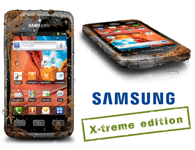 Samsung Galaxy Xcover, hp outdoor kaya fitur + Android Gingerbread dan