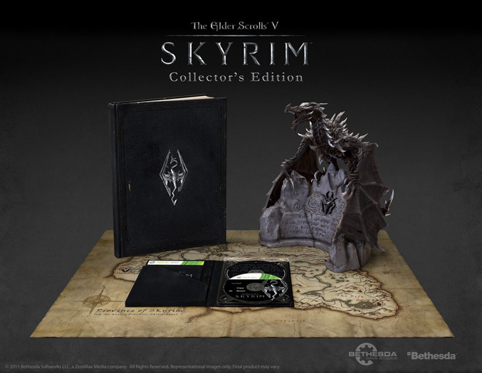 The Elder Scrolls V Skyrim Collector's Edition
