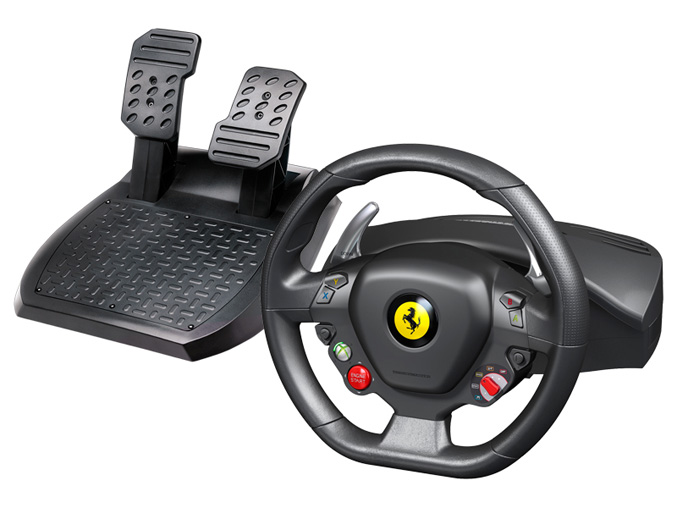 Thrustmaster rolls out Ferrari 458 Italia Racing Wheel and TH8 RS shifter