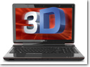 Toshiba Qosmio F755 glasses-free 3D laptop