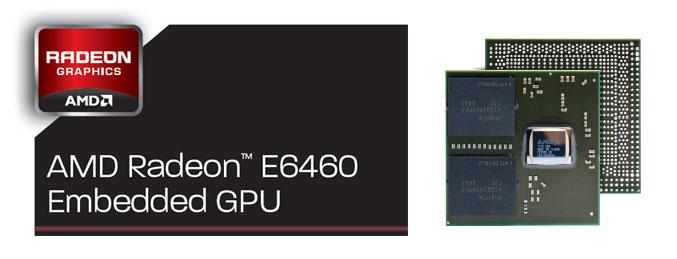 AMD Radeon E6460 Embedded GPU