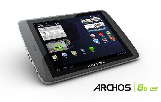 ARCHOS 80 G9 tablet