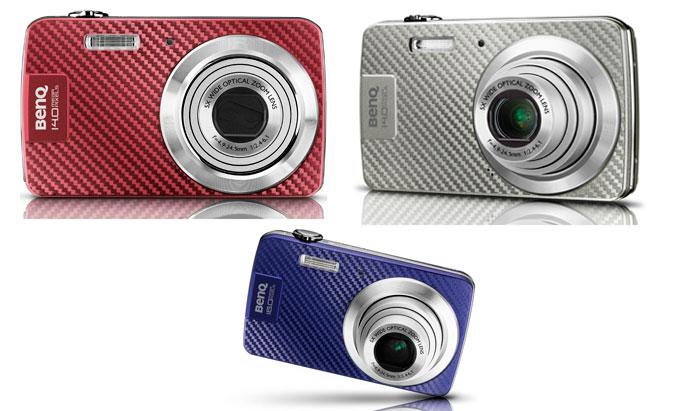 BenQ AE100 and AE200 digital cameras