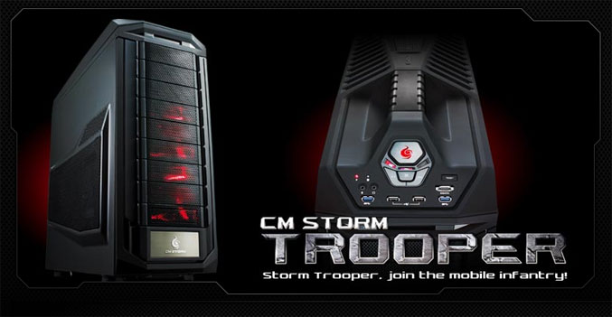 CM-Storm Trooper full-tower chassis