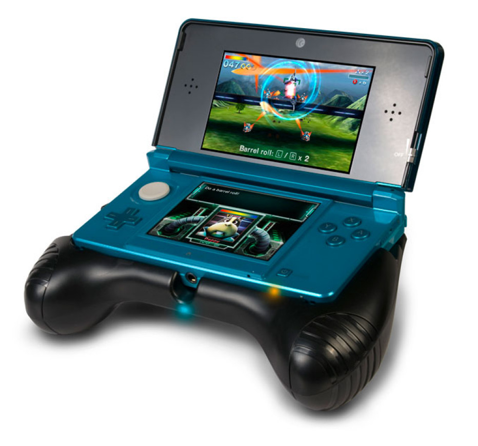 CTA outs Deluxe Power Grip for 3DS