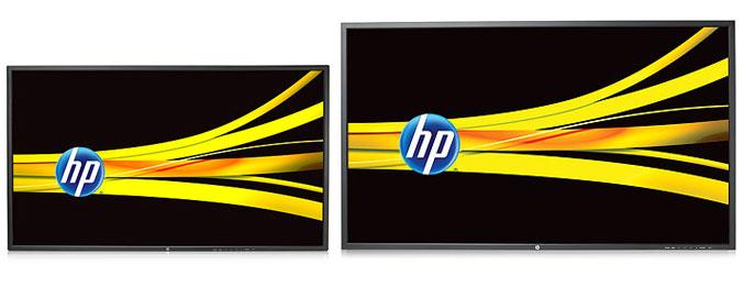 HP LD4220tm and HP LD4720tm Digital Signage Displays