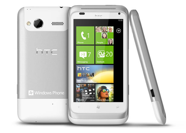 HTC Titan And HTC Radar Windows Phone Mango Smartphones