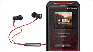 HTC Sensation XE smartphone with Beats Audio