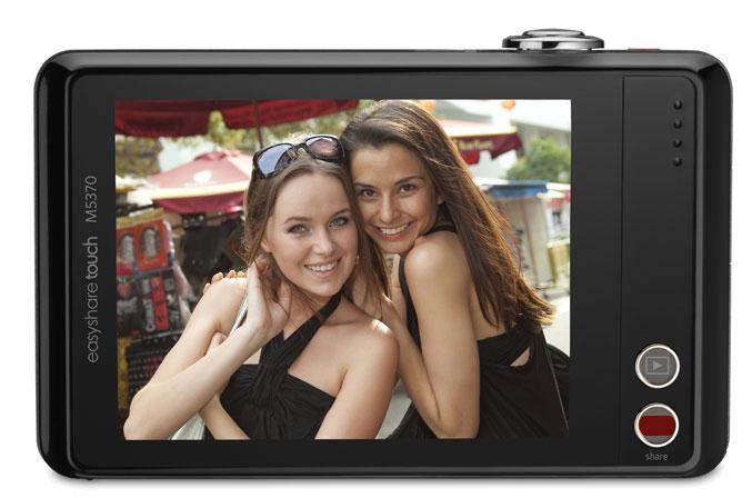 Kodak EasyShare Touch M5370 back
