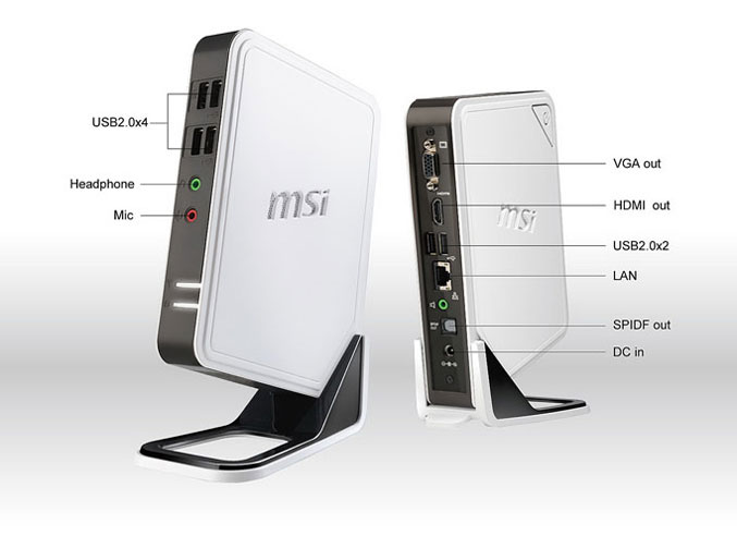 MSI unveils Wind Box DC100 mini PC