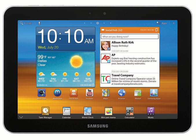 Samsung launches Galaxy Tab 8.9 tablet