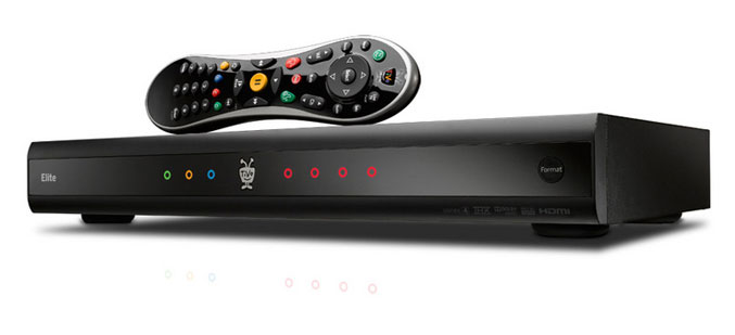 TiVo Premiere Elite DVR offers four tuners and 2TB storage space