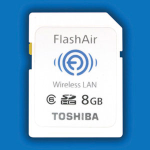 Toshiba FlashAir WiFi card