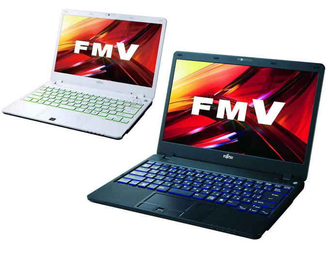 Fujitsu Lifebook SH76/E and SH54/E notebooks