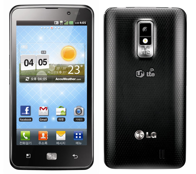 LG Optimus LTE 4G HD smartphone official