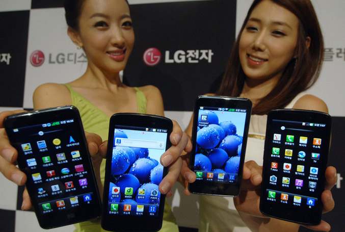 LG presented True HD IPS display for mobile devices