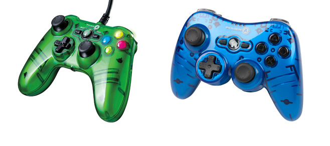 POWER A outs controllers for PS3, Xbox360 and Wii