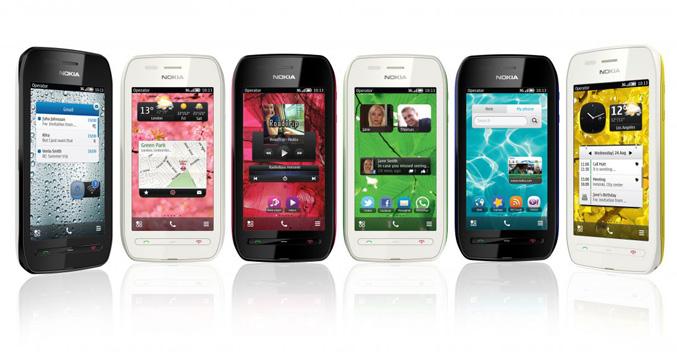 Nokia 603 smartphone