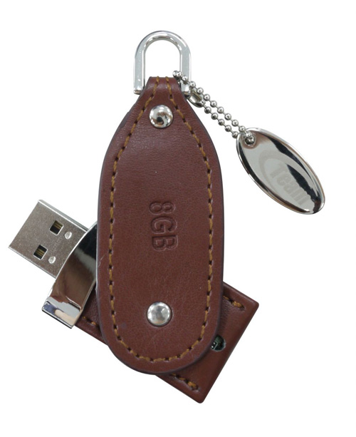 Team Group TL01 leather USB drive