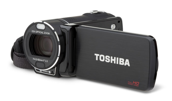 Toshiba rolls out Camileo X200, X400 and X416 Camcorders
