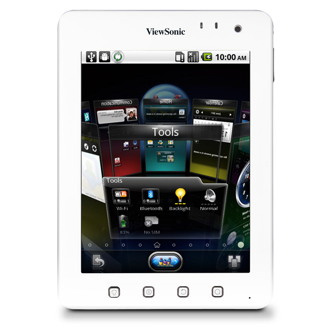 ViewSonic launches ViewPad 7e Android tablet for $199.99