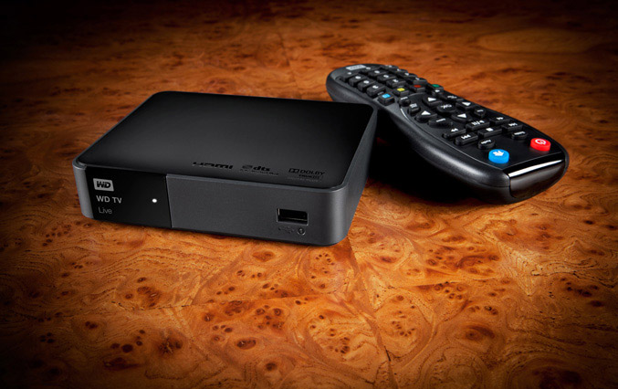WD TV Live media player offers wireless streaming and Spotify support