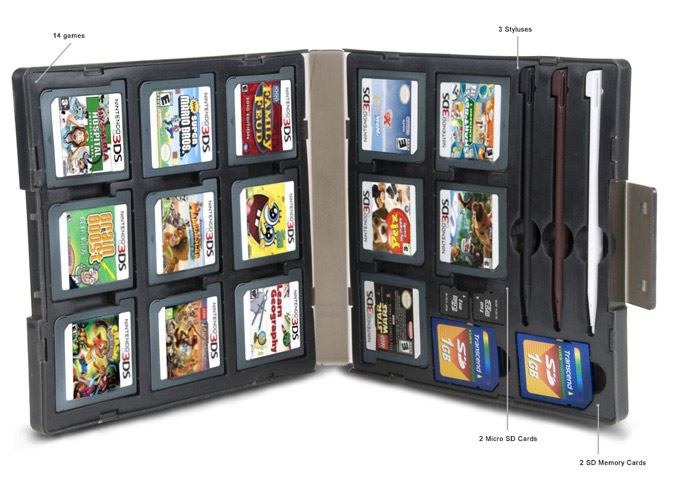 Keep your 3DS games Safe with Portable Game Locker