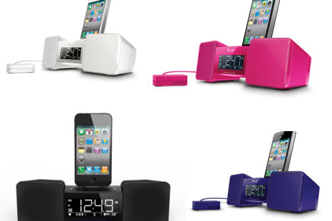 iLuv's iMM155 Vibro II iPhone/iPod Alarm Clock will Shake 'n' Wake